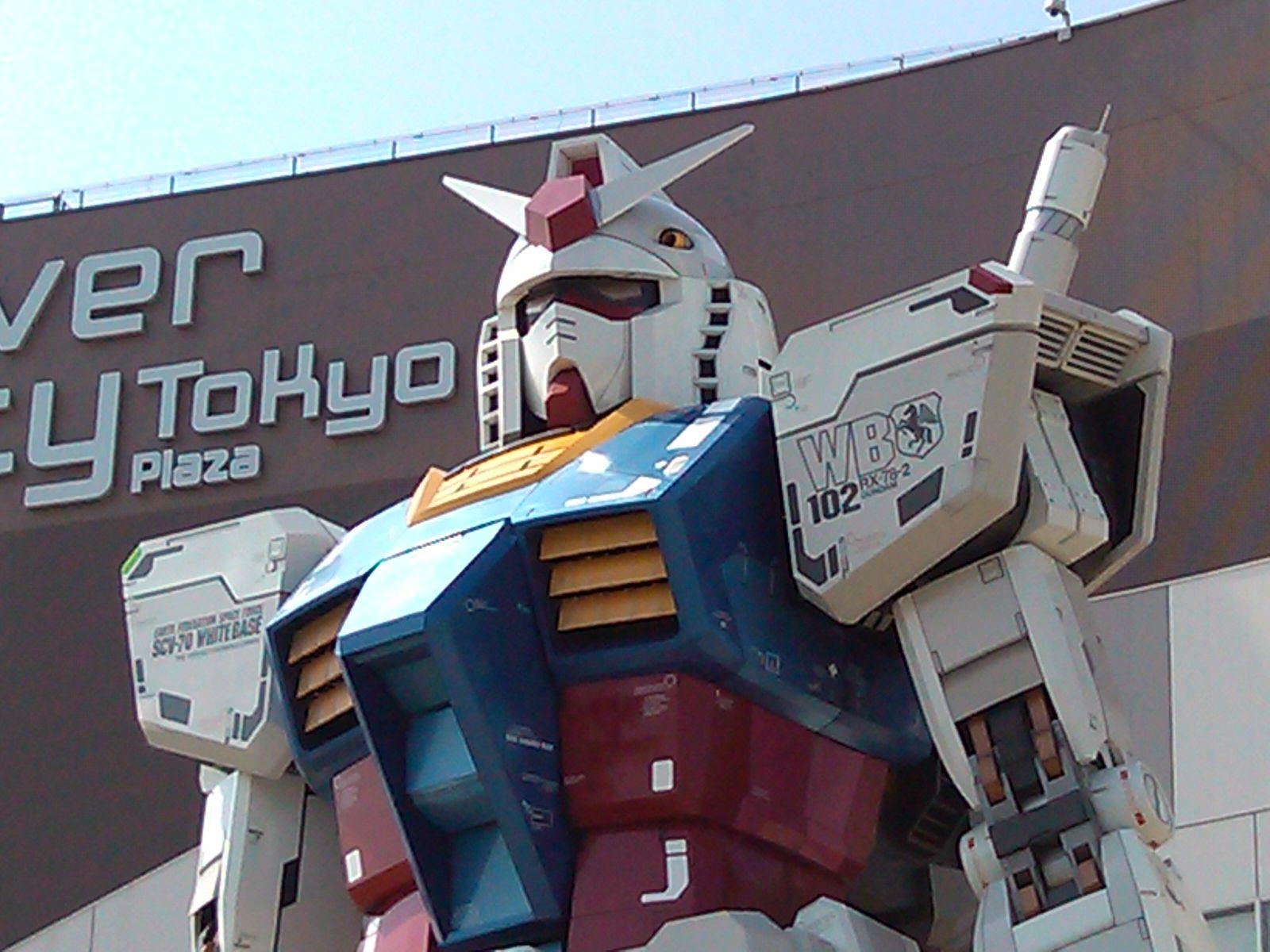 ダイバーシティ東京プラザに行ってみた。