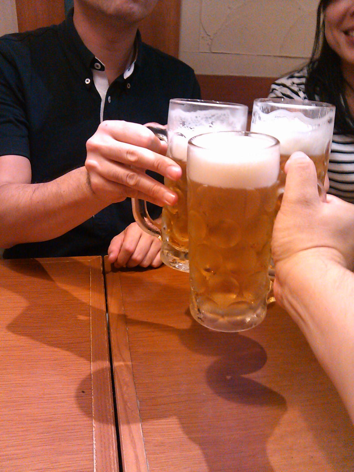 やっぱり「キンキンに冷えたビール」だよなあ。