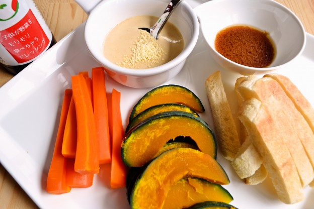 旬の温野菜とマヨドレディップ