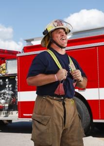 消防士,fireman,smile